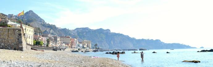 beach sicily relax