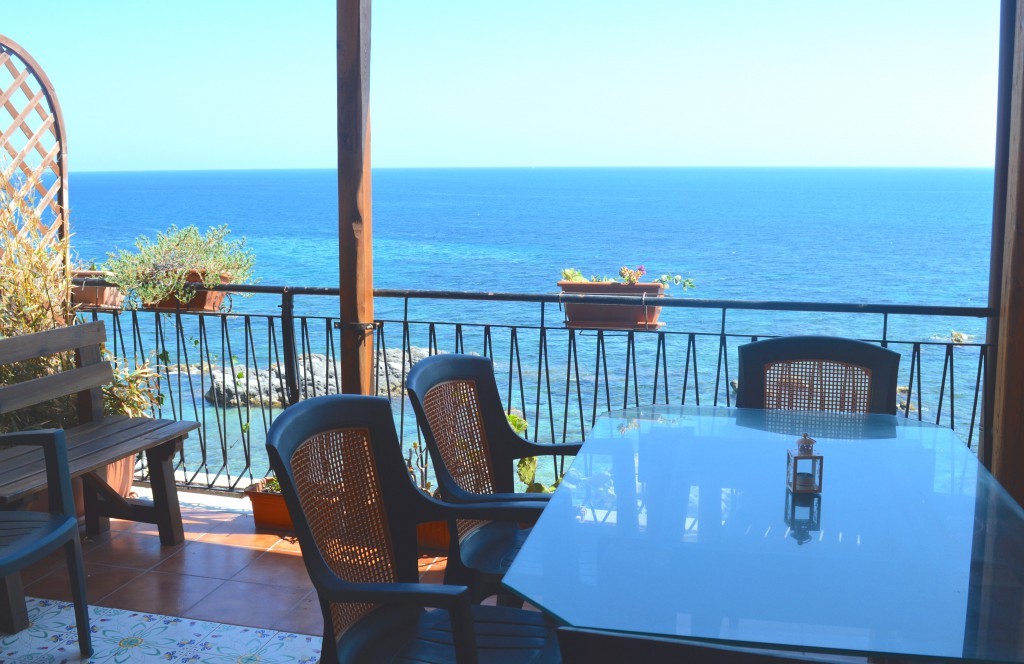 terrace seaview hotel sicily